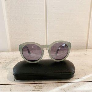Madewell Gray Framed Sunglasses Cateye